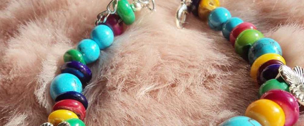 藏族绿松石手链