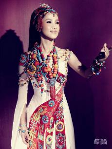 藏北地区夏季藏族服饰定制