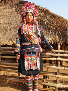 传统黑色哈尼族盛装定制
