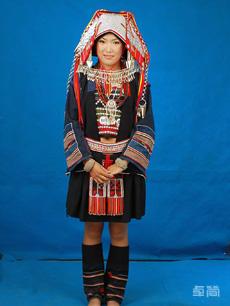 腊乜支系哈尼族服饰定制