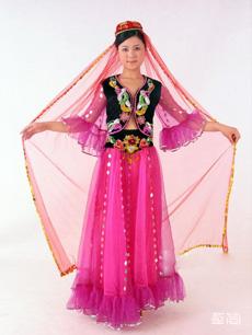 维吾尔族服饰定制