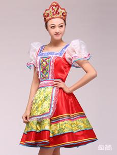 俄罗斯族服饰定制
