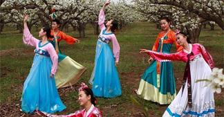 """尊亲敬老的朝鲜族""""老人节"""""""