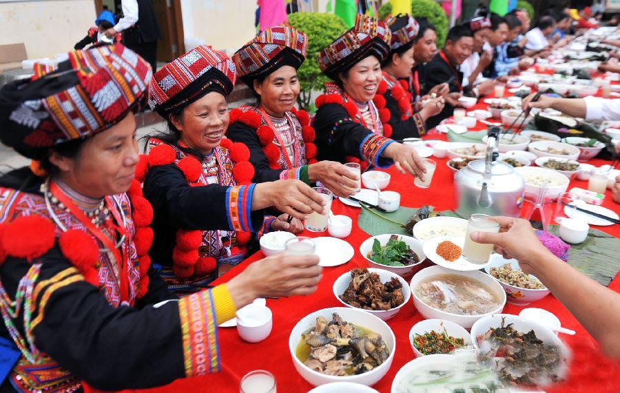 过山瑶的饮食与酒文化
