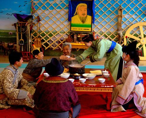 蒙古族日常生活八忌