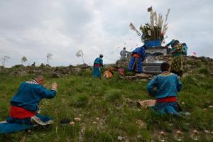 蒙古族丧葬习俗