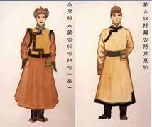 蒙古族服饰特点