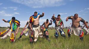 蒙古族摔跤手服饰