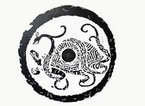 龟蛇玄武——常见蒙古族图案(三)