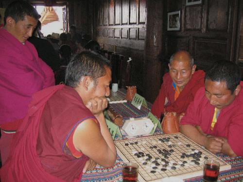 历史悠久的西藏围棋
