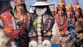 藏族服饰的审美特征