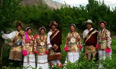 藏族服饰的区域性差异