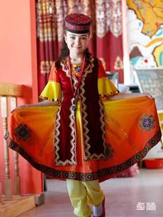 塔吉克族服饰定制