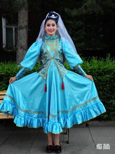 塔塔尔族服饰定制