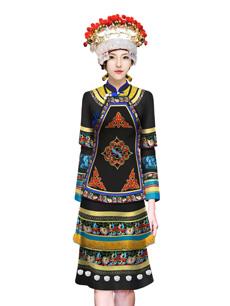 瑶族公务员节庆盛装方案设计