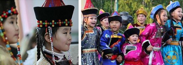 蒙古族服饰和鄂伦春族、鄂温克族有什么区别?