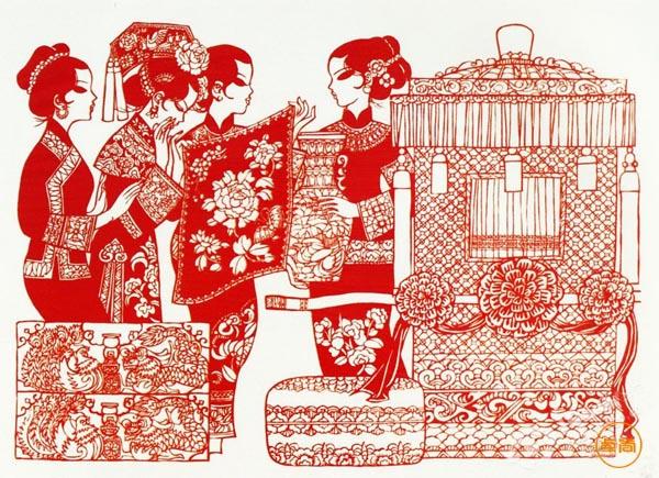 """【民族文化】你知道古代人是怎么""""相亲""""的吗?"""