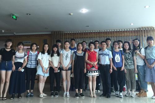 浙师大传媒师生参观学习卓简后,学生收获心得纪实