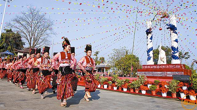 乐虎国际官网|民族节日,阿昌族窝罗节