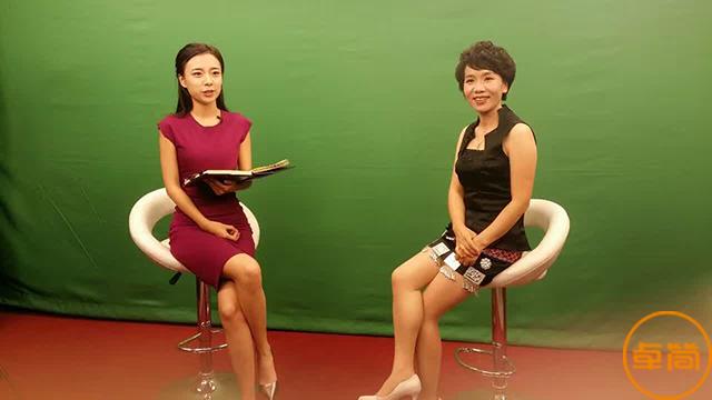 卓简创始人刘湘萍受邀做客华人频道北京演播室