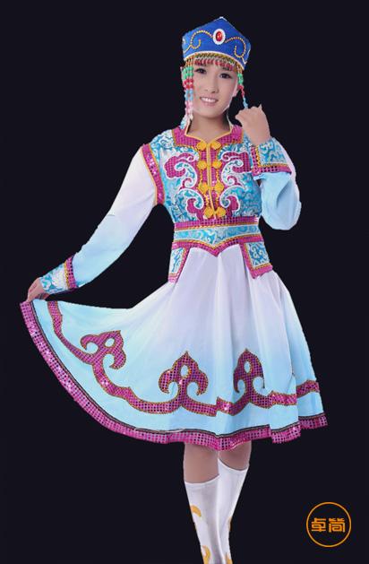 首页 少数民族服装 蒙古族服饰 传统蒙古服饰定制  型号: mgz1112