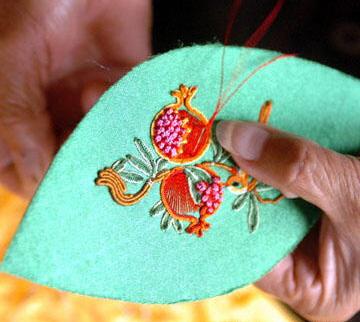 塑料彩带编织凤凰