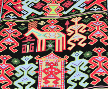 婚礼图案——黎族服饰花纹图案(四)