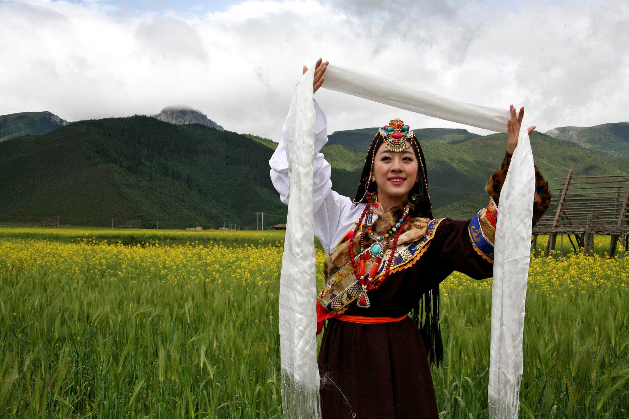 【高清】藏族人物服饰摄影(下)